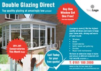 Window Fitters A1 Leaflets by Templatecloud