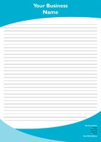 A4 General Notepad 4 by Templatecloud