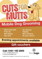 Dog Groomers A4 Posters by Templatecloud