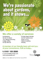 Garden Maintenance A4 Leaflets by Templatecloud