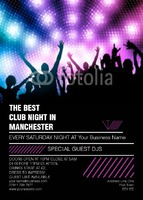 Clubs A6 Leaflets by Templatecloud