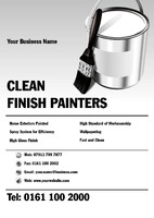 Painters and Decorators A4 Leaflets by Templatecloud