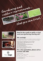 Home Maintenance A2 Leaflets by Templatecloud