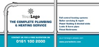 Plumbers 1/3rd A4 Leaflets by Templatecloud