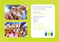 Karaoke A4 Leaflets by Templatecloud