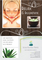 Beauty Treatments A5 Leaflets by Templatecloud