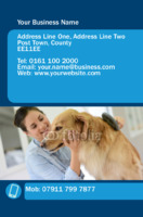Pets Business Card  by Templatecloud