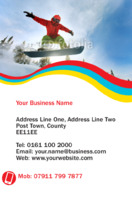 Lessons Business Card  by Templatecloud