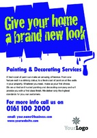 Home Improvement A5 Leaflets by Templatecloud