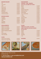 Restaurant A5 Flyers by Templatecloud