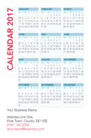 Business Card Pocket Calendars Collection by Templatecloud