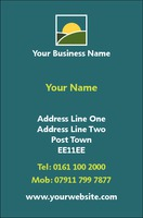 Market Business Card  by Templatecloud