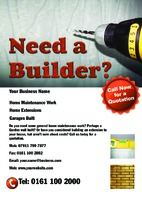 Builders A5 Leaflets by Templatecloud