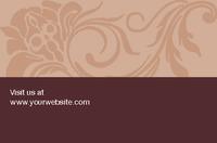 Beauty Salon Business Card  by Templatecloud