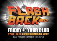 Night Club A6 Leaflets by Templatecloud