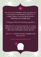 Bakery A6 Leaflets by Templatecloud