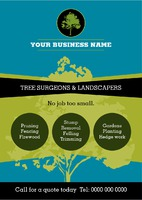 Gardeners A5 Leaflets by Templatecloud