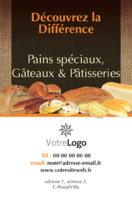 Boulangerie Carte De Visite