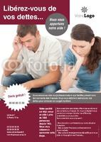 Gestion des dettes A4 Tracts par Templatecloud