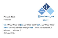 Comptables Carte de visite  par Templatecloud