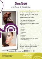 Salon de beauté A6 Tracts par Templatecloud