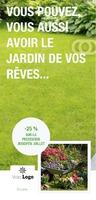 Entretien des jardins 1/3 A4 Tracts par Templatecloud