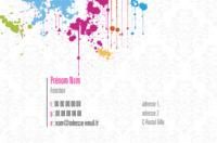 Peintres et décorateurs Carte de visite  par Templatecloud