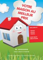 Immobilier A5 Flyers par Templatecloud