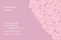 Fleuriste Carte de visite  par Templatecloud