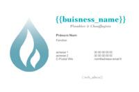 Plombiers Carte de visite  par Templatecloud