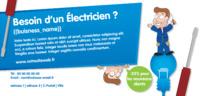 Électriciens 1/3 A4 Flyers par Templatecloud