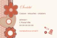 Carte De Visite Couturiere