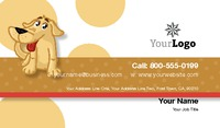 "Pet Care 2"" x 3.5"" Business Cards by Paul Wongsam"