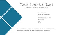 "Home Maintenance 2"" x 3.5"" Business Cards by Robert Doyle"