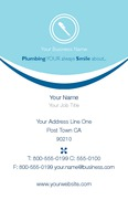 "Plumbers 2"" x 3.5"" Business Cards by Paul Bullock"