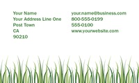 "Lawn Maintenance 2"" x 3.5"" Business Cards by Rebecca Doherty"