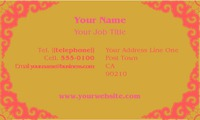"Dance Class 2"" x 3.5"" Business Cards by C V"