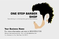 "Barber 5.5"" x 8.5"" Flyers by Peter Stewart"