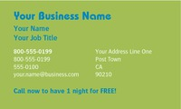 "Dog Care 2"" x 3.5"" Business Cards by C V"