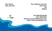 """Sea Cruise 2"""" x 3.5"""" Business Cards by Neil Watson"""