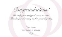 """Wedding Planners 2"""" x 3.5"""" Business Cards by Kirsty Murray"""