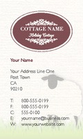 """Hospitality 2"""" x 3.5"""" Business Cards by Jacqueline Hargreaves"""