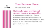 "Hypnotherapy 2"" x 3.5"" Business Cards by Templatecloud"