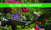 "Lawn Maintenance 2"" x 3.5"" Business Cards by C V"