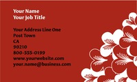 "Restaurant 2"" x 3.5"" Business Cards by Rebecca Doherty"