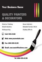 """Painter 4"""" x 6"""" Flyers by Neil Watson"""