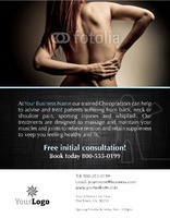 "Chiropractic 8.5"" x 11"" Flyers by Paul Wongsam"