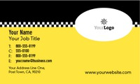 "Taxi 2"" x 3.5"" Business Cards by James Alexander Scheck"