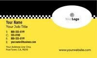 "Taxi 2"" x 3.5"" Business Cards by James Alexander Scheck"