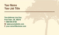 "Tree Surgeon 2"" x 3.5"" Business Cards by Ro Do"